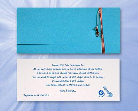 White of Berlin IB102 invitation Einladung christening Taufe πρόσκληση βάφτιση