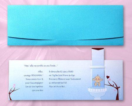 White of Berlin IB124 invitation Einladung christening Taufe πρόσκληση βάφτιση