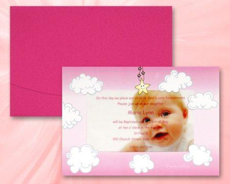 White of Berlin IB155 invitation Einladung christening Taufe πρόσκληση βάφτιση