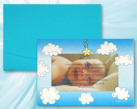White of Berlin IB156 invitation Einladung christening Taufe πρόσκληση βάφτιση