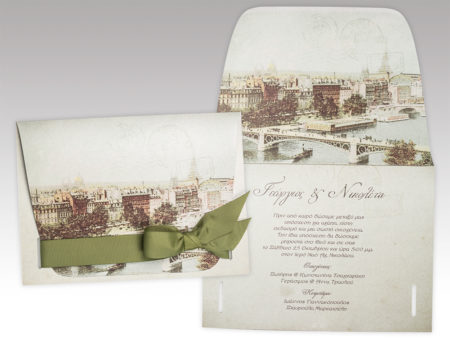 White of Berlin IW057 invitation Einladung wedding Hochzeit πρόσκληση γάμο