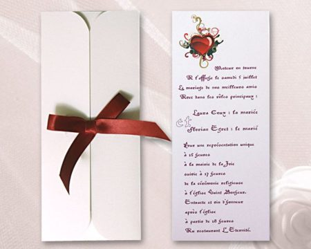 White of Berlin IW091 invitation Einladung wedding Hochzeit πρόσκληση γάμο