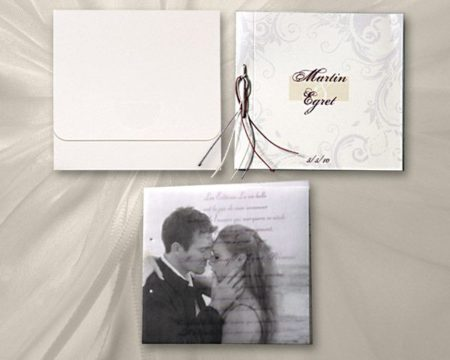 White of Berlin IW147 invitation Einladung wedding Hochzeit πρόσκληση γάμο