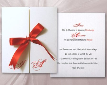 White of Berlin IW148 invitation Einladung wedding Hochzeit πρόσκληση γάμο