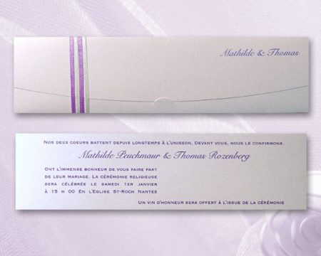 White of Berlin IW156 invitation Einladung wedding Hochzeit πρόσκληση γάμο