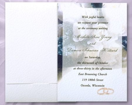 White of Berlin IW163 invitation Einladung wedding Hochzeit πρόσκληση γάμο
