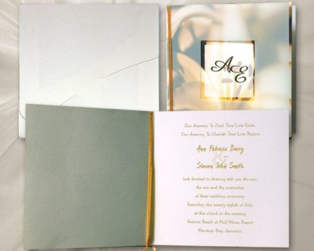 White of Berlin IW164 invitation Einladung wedding Hochzeit πρόσκληση γάμο
