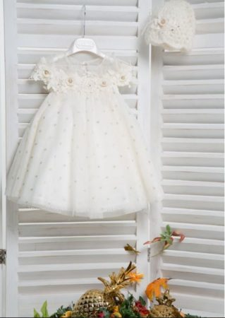 White of Berlin K4152X taufe christening kleid dress βάφτιση ρούχα