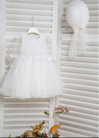White of Berlin K4161 taufe christening kleid dress βάφτιση ρούχα