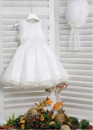 White of Berlin K4164E taufe christening kleid dress βάφτιση ρούχα