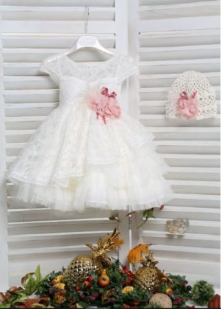 White of Berlin K4165E taufe christening kleid dress βάφτιση ρούχα