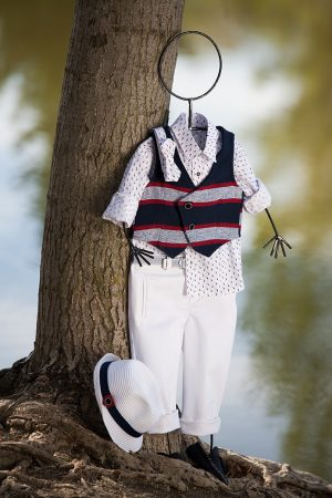 White of Berlin AW017a taufe christening clothes boy Jünge βάφτιση ρούχα