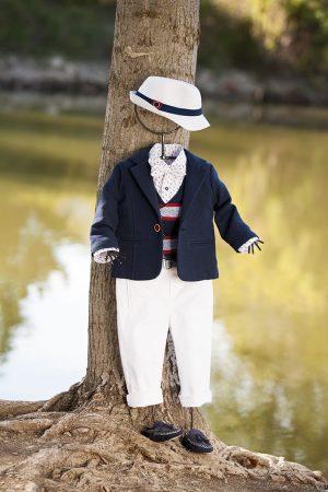 White of Berlin AW017 taufe christening clothes boy Jünge βάφτιση ρούχα