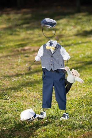 White of Berlin AW016 taufe christening clothes boy Jünge βάφτιση ρούχα