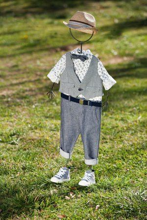 White of Berlin AW037 taufe christening clothes boy Jünge βάφτιση ρούχα