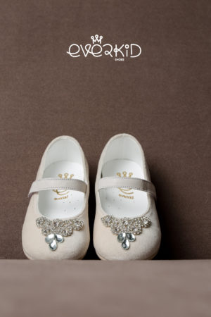 White of Berlin W101 taufe christening shoe schuh